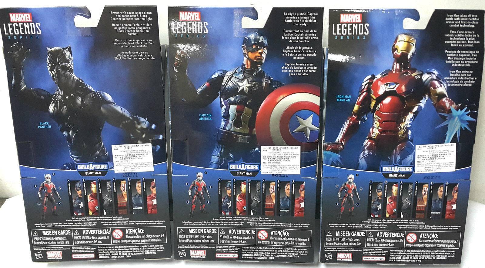 Red Guardian Marvel Legends Captain America Civil War 6 Inch 2016 Giant Man BAF