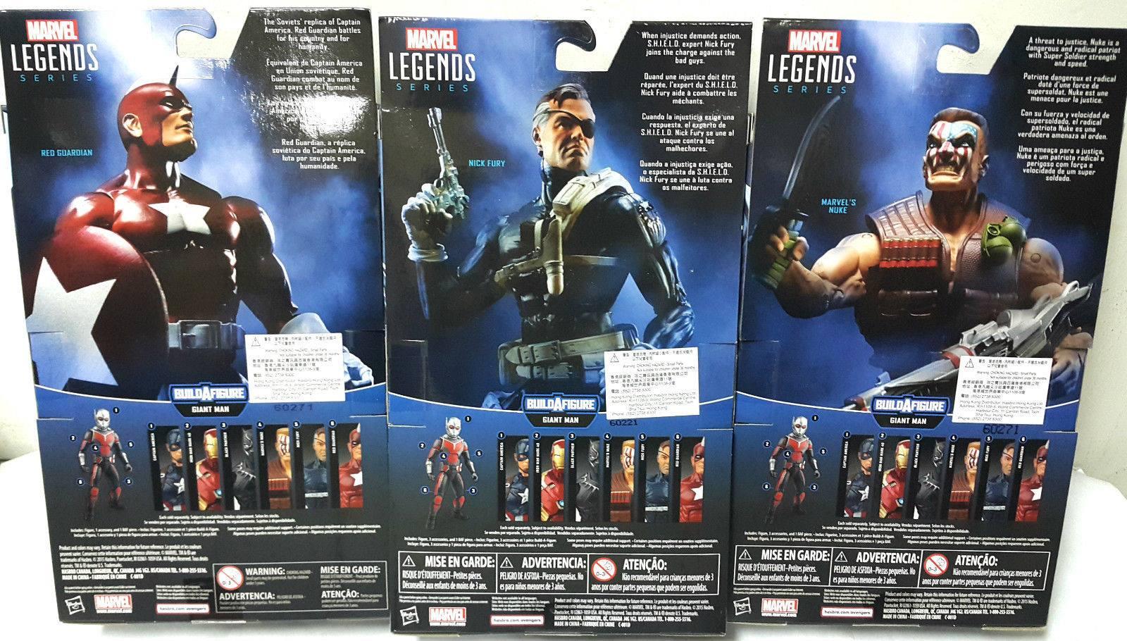 Marvel Legends Giant Man Build-a-Figure Nuke