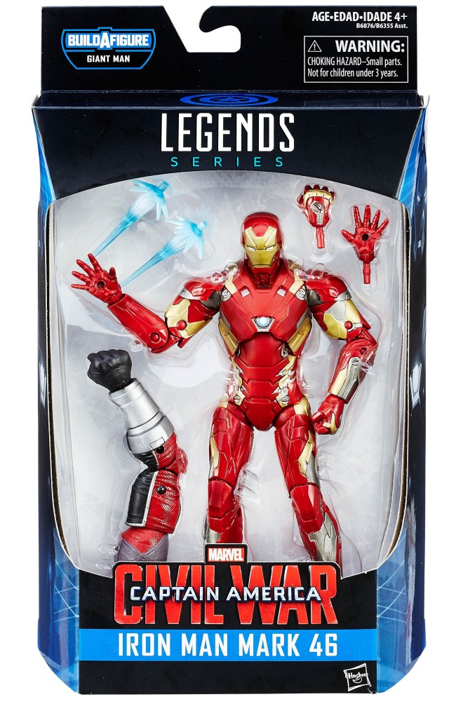 Marvel Legends Iron Man Mark 46 Civil War Figure