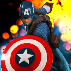 Mezco Captain America ONE 12 Collective Action Figure