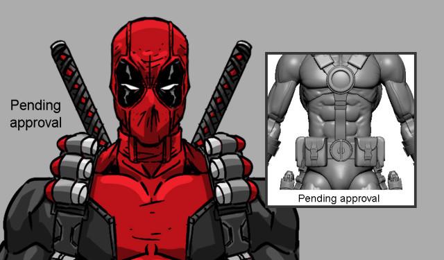 Mezco Deadpool ONE 12 Collective Figure Preview