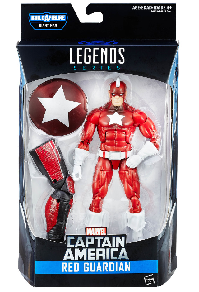 Red Guardian Marvel Legends Figure Packaged