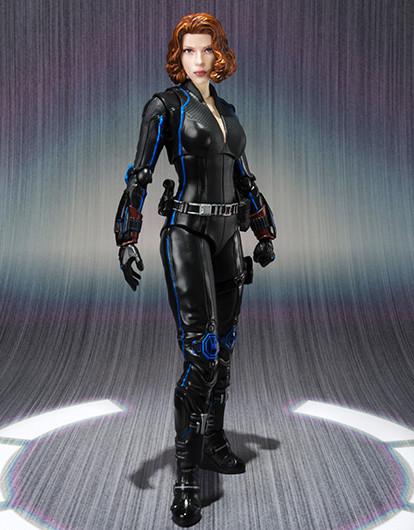 SH Figuarts Avengers Age of Ultron Black Widow Figure Standing