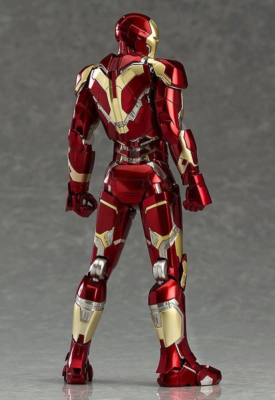 Back of Iron Man Mark 43 Figma Figure