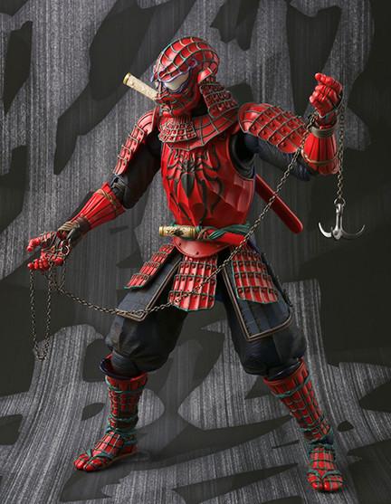 Bandai Figuarts Samurai Spider-Man Grappling Hook Chain Weapon