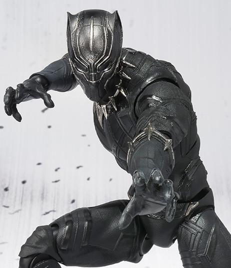 Bandai SH Figuarts Black Panther Figure Revealed