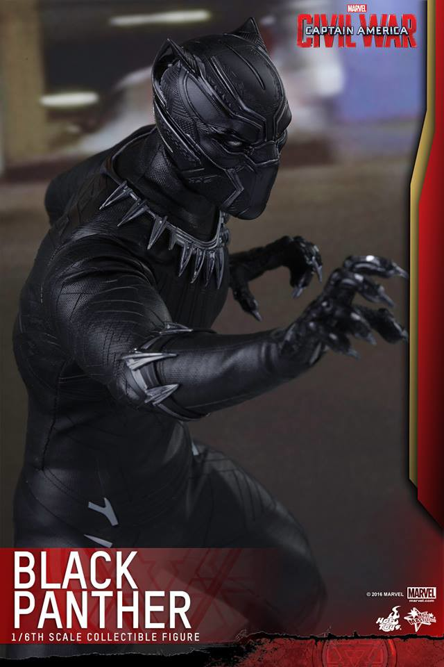 Captain America Civil War Hot Toys Black Panther Sixth Scale Figure