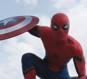 Captain America Civil War Spider-Man with Shield Screenshot