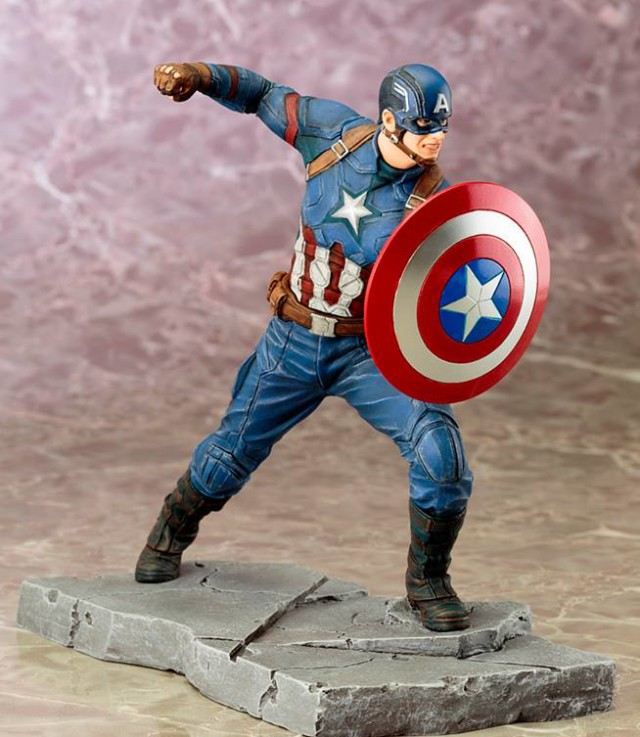 Civil War Captain America ARTFX+ Statue Kotobukiya