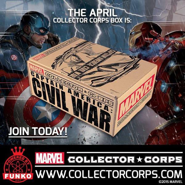 Civil War Collector Corps Box April 2016