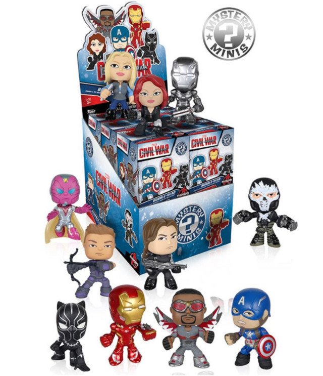 Civil War Mystery Minis Figures
