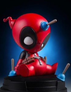 Close-Up of Gentle Giant Marvel Animated Deadpool Figure