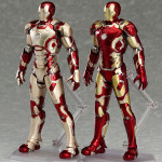 Figma Iron Man Mark 42 & 43 Figures Revealed & Photos!