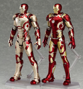 Figma Iron Man Mark 42 and Iron Man Mark 43