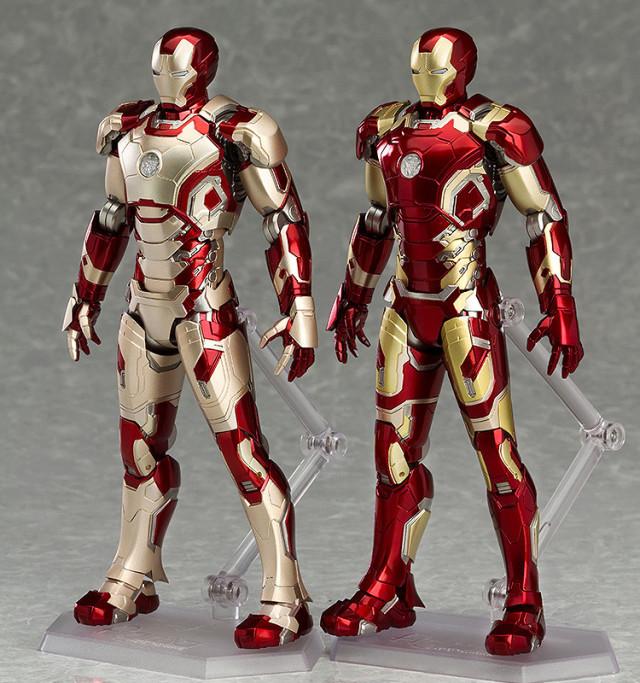 Figma Iron Man Mark 42 and Iron Man Mark 43