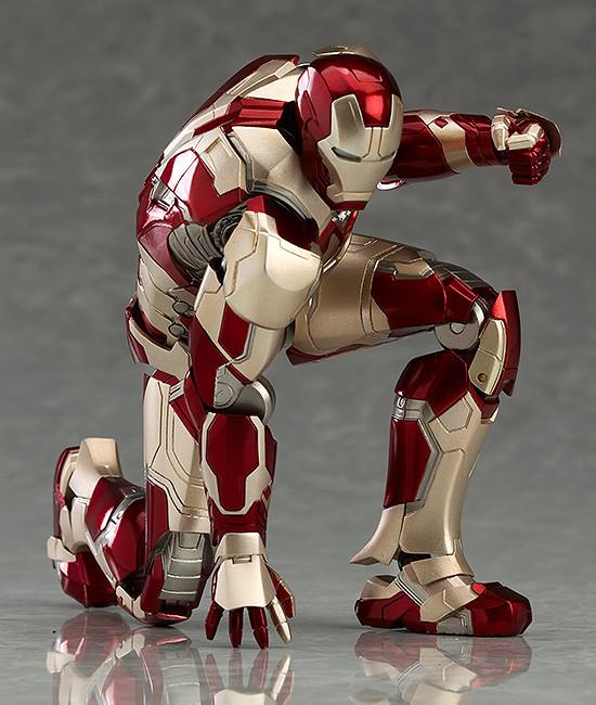 Figma Iron Man Mark XLII Figure Articulation