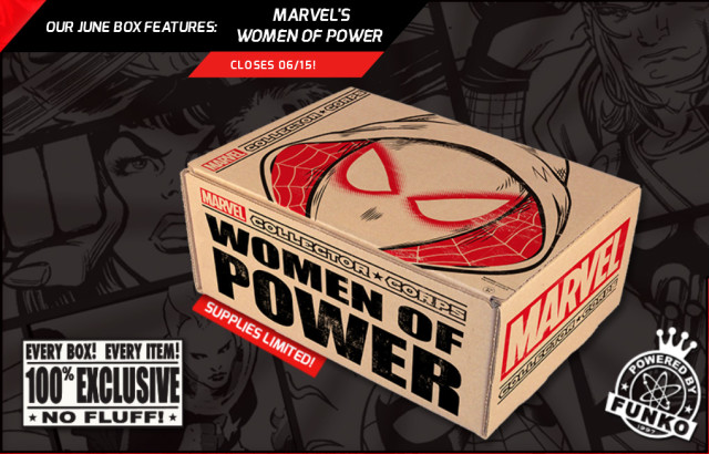 Funko Women of Power Collector Corps Box