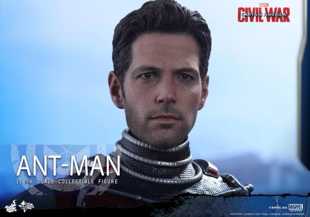 Hot Toys Ben Affleck Ant-Man Head Sculpt Captain America Civil War
