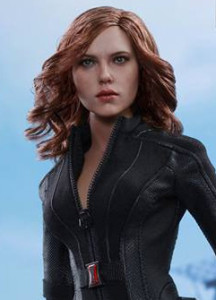 Hot Toys Black Widow Civil War Figure Up for Order