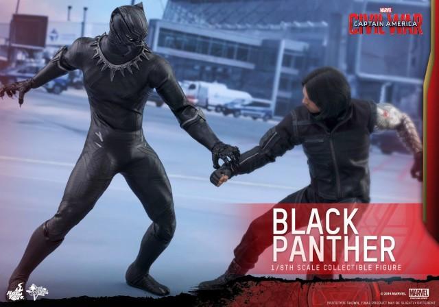 Hot Toys Captain America Civil War Black Panther vs. Winter Soldier