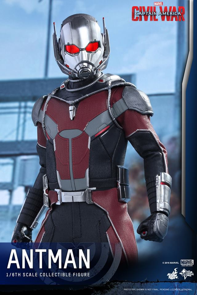 Civil Protection Toys : Hot toys civil war ant man figure photos