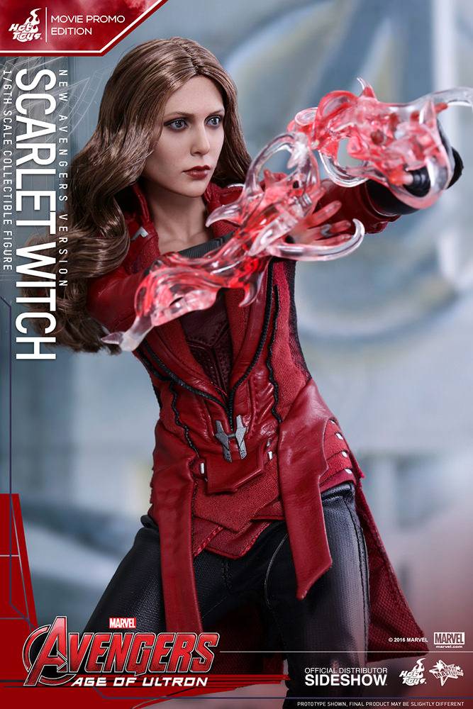 Hot Toys New Avengers Scarlet Witch Figure Movie Promo  Marvel