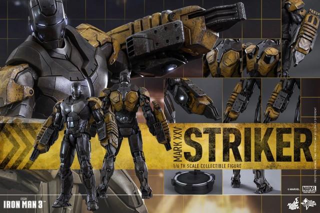 Hot Toys Striker Iron Man MMS Figure