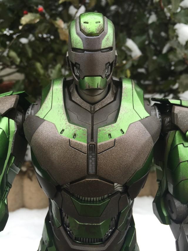 Close-Up of Iron Man 3 Hot Toys Gamma Mark XXVI MMS