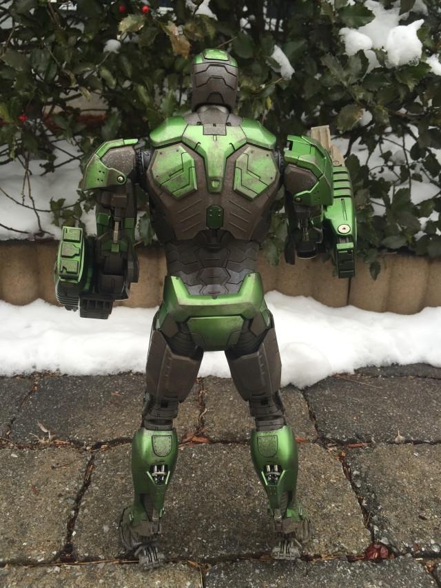 Back of Iron Man Gamma Mark XXVI Movie Masterpiece Series Figure