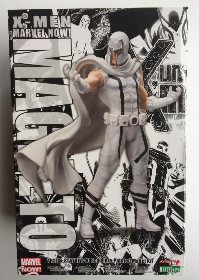 Kotobukiya White Magneto Statue Box