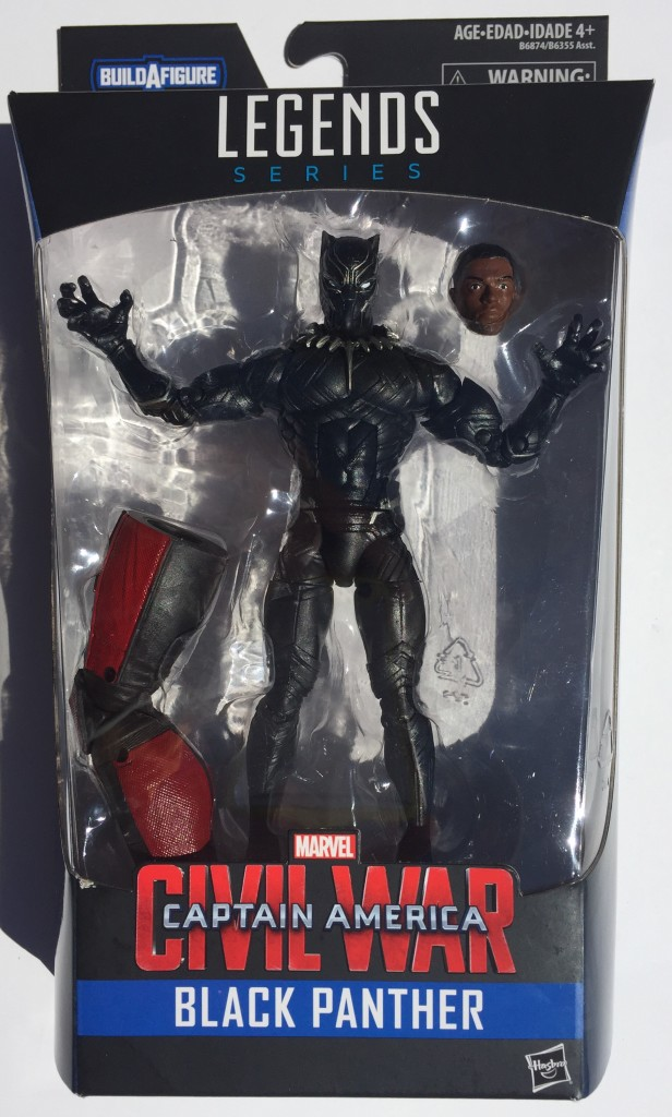Marvel Legends Black Panther Figure Packaged