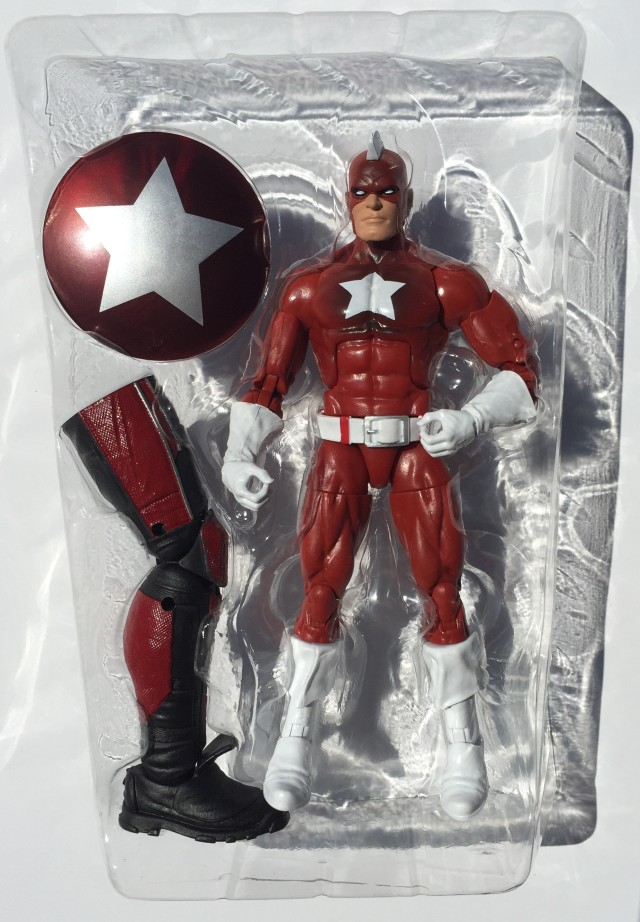 Marvel Legends Red Guardian Six Inch Figure and Accessories