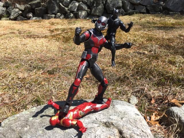 Giant-Man vs Black Panther vs Iron Man