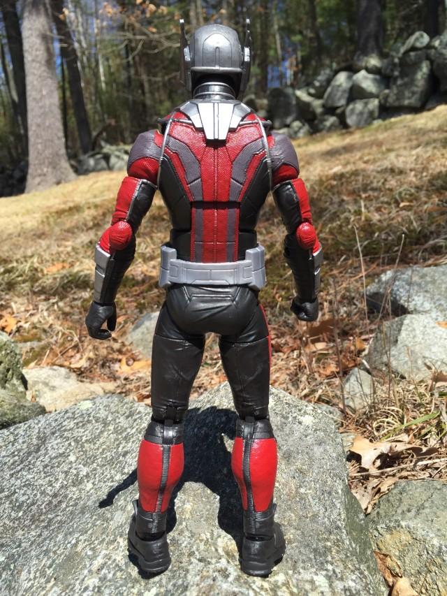 Back of Marvel Legends Captain America Civil War Giant Man Figure