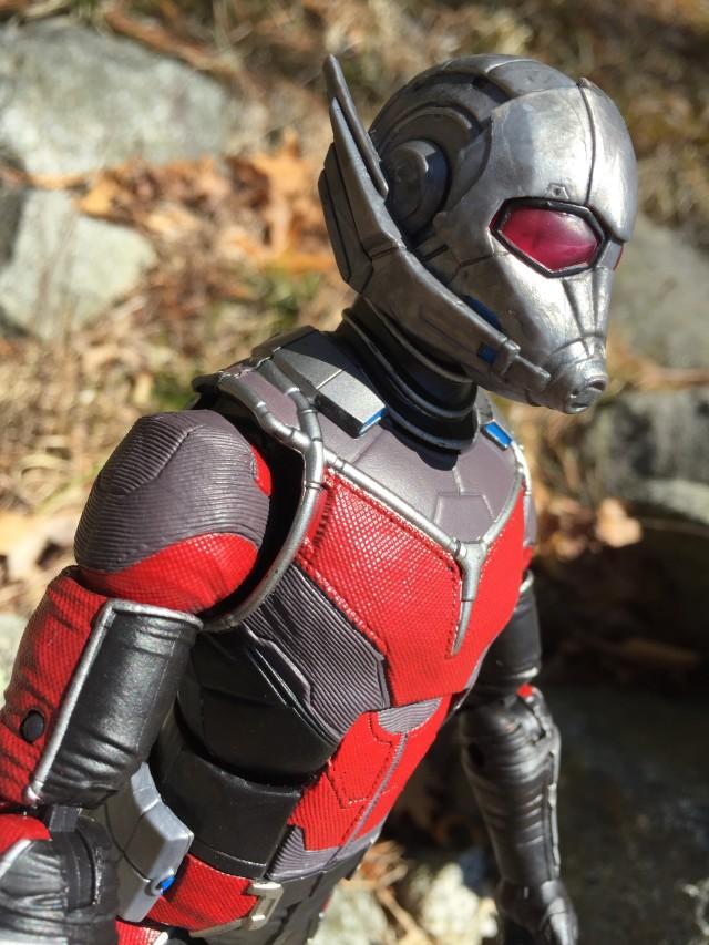 Side View of Captain America Marvel Legends Giant-Man Helmet
