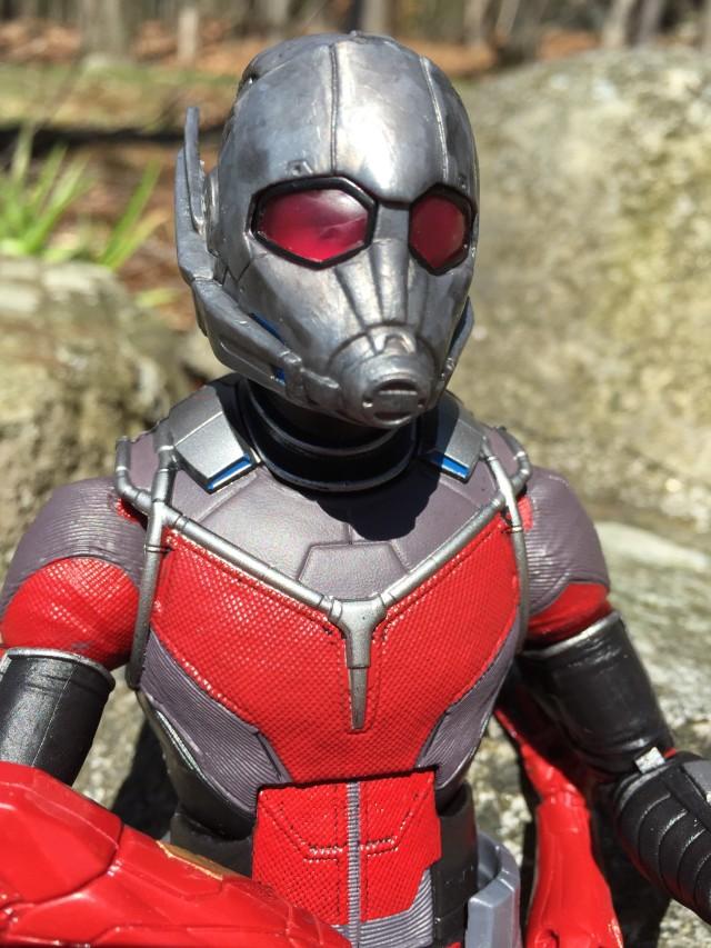 Close-Up of Giant-Man Marvel Legends Build-A-Figure Head Helmet
