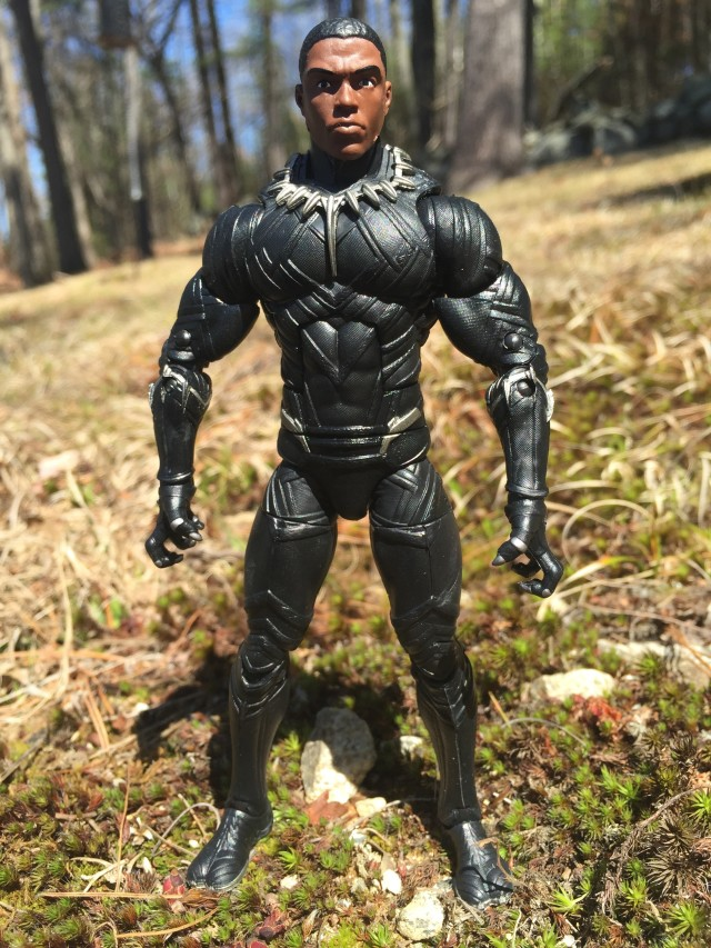 Marvel Legends Black Panther Unmasked Chadwick Boseman T'Challa Head