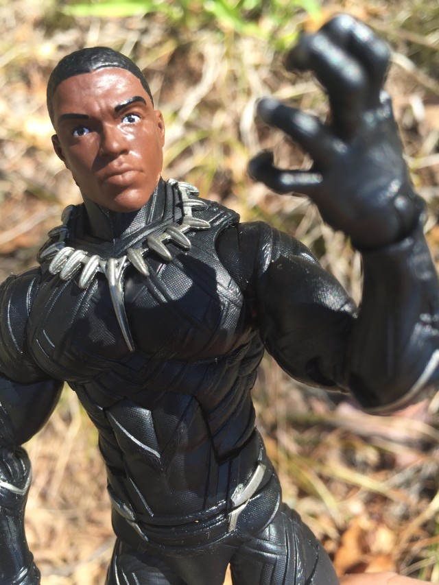 Black Panther Chadwick Boseman Head Marvel Legends