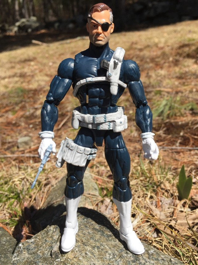 Marvel Legends Captain America Civil War Nick Fury Six Inch Figure Review