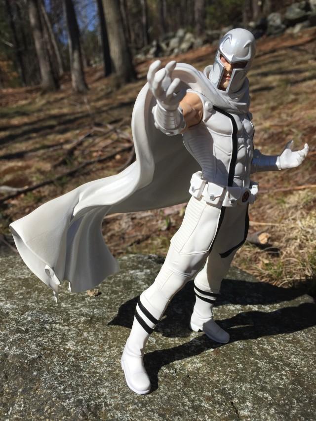 White Magneto Kotobukiya ARTFX+ Statue Review