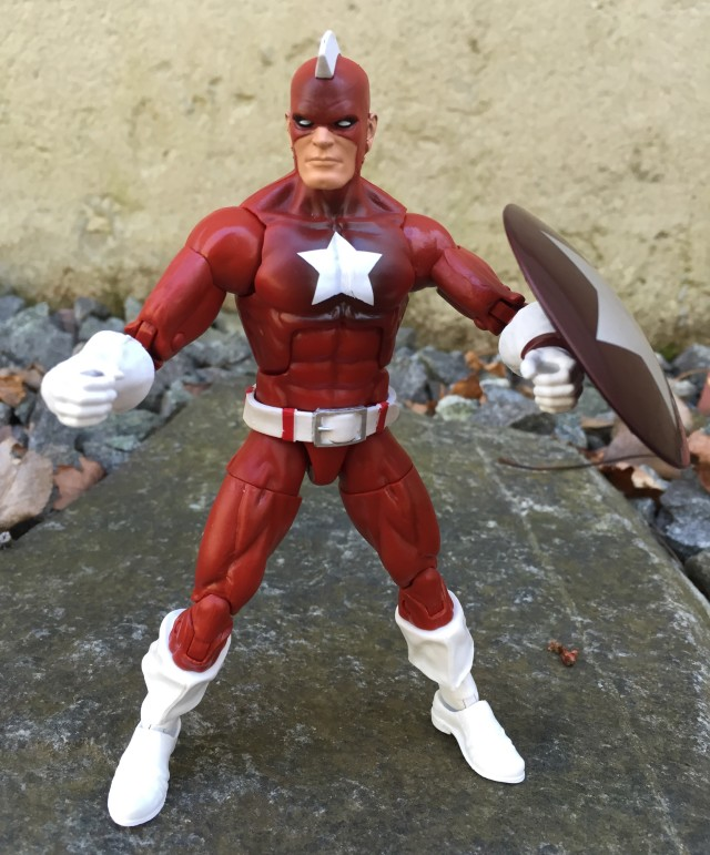 Marvel Legends 2016 Red Guardian Figure Review