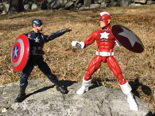 Marvel Legends Captain America vs. Red Guardian