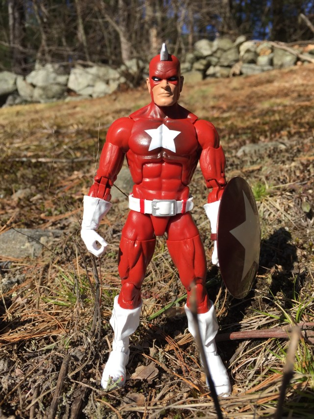 Captain America Legends Red Guardian Action Figure