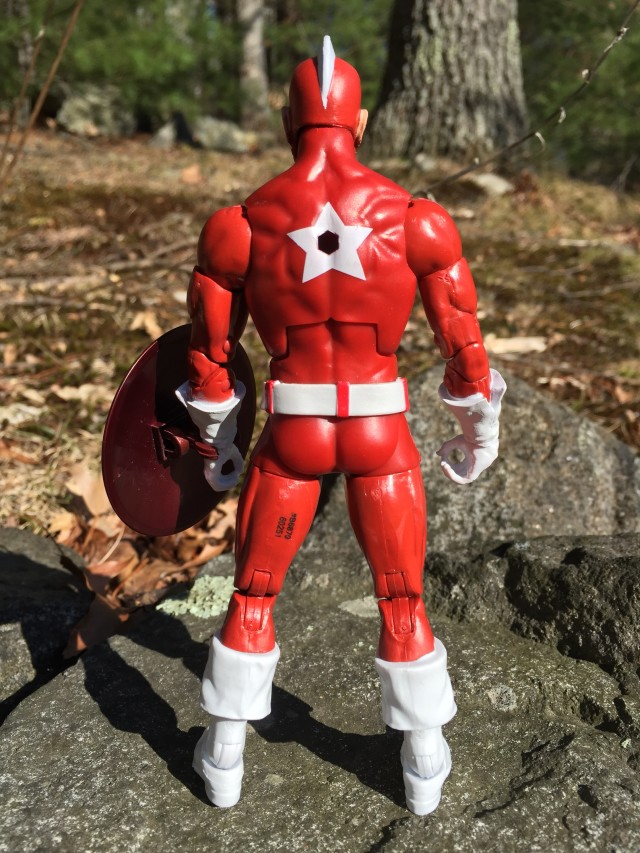 "Back of Marvel Legends 6"" Red Guardian Figure"