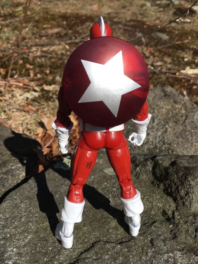 Marvel Legends Civil War Red Guardian with Shield on Back