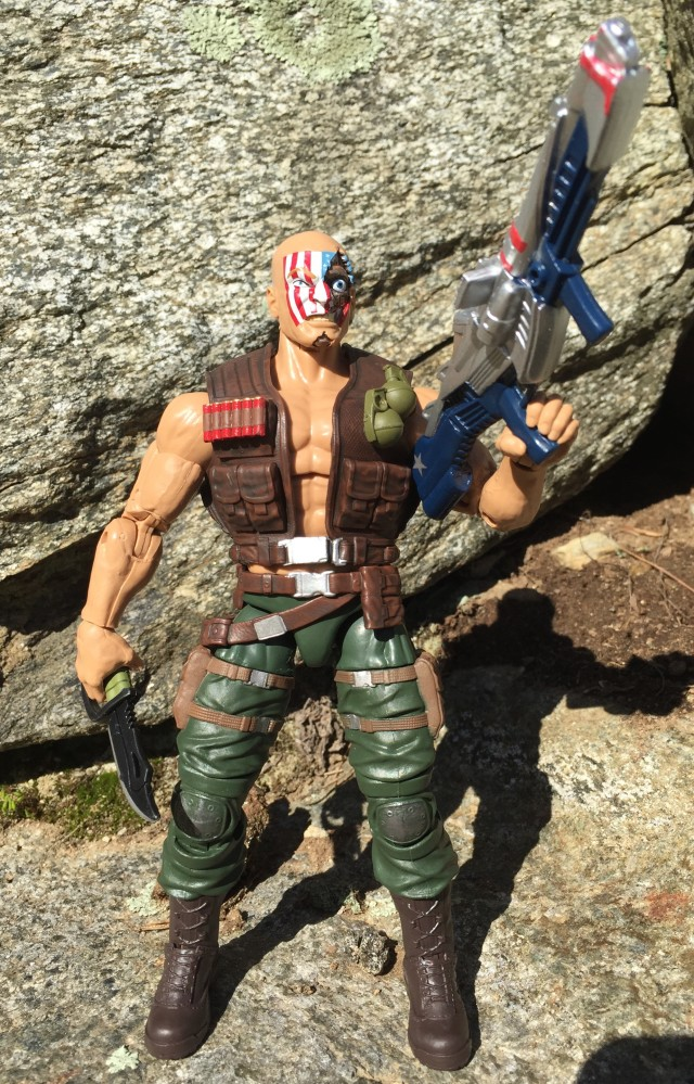 Captain America Legends Nuke Wave 2 Figure 2016