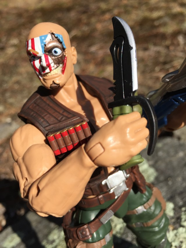 Marvel Legends Civil War Nuke Figure Knife
