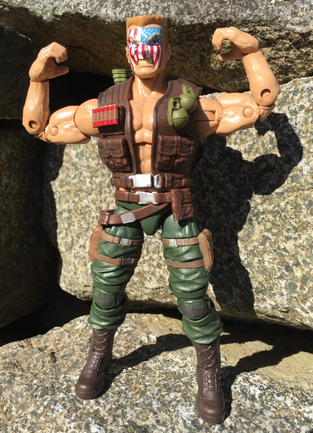 Hasbro Marvel Legends Nuke Action Figure Flexing Muscles