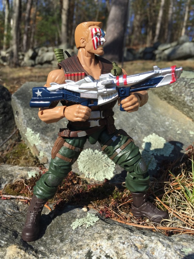 "Marvel Legends Nuke 6"" Figure Gun"