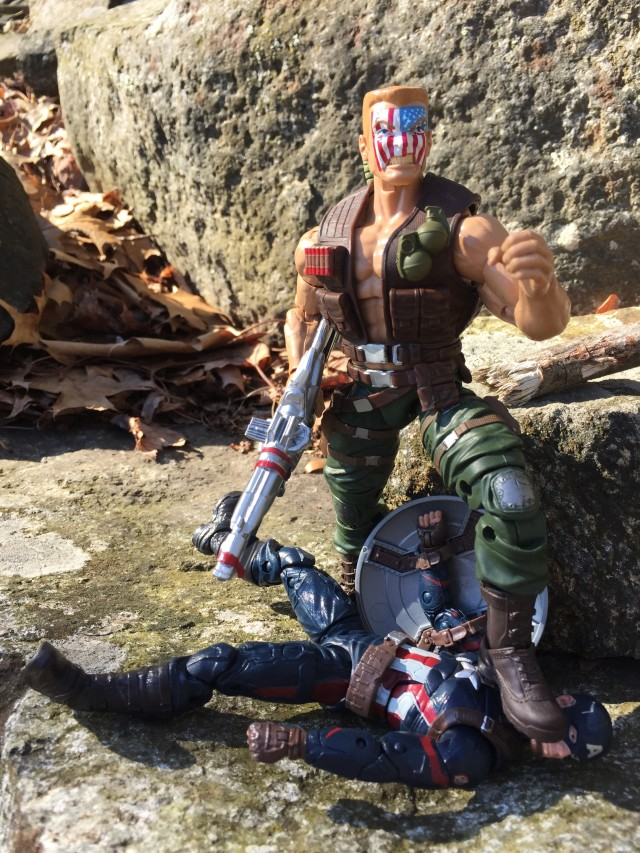 Marvel Legends 2016 Nuke Six Inch Figure Kills Captain America